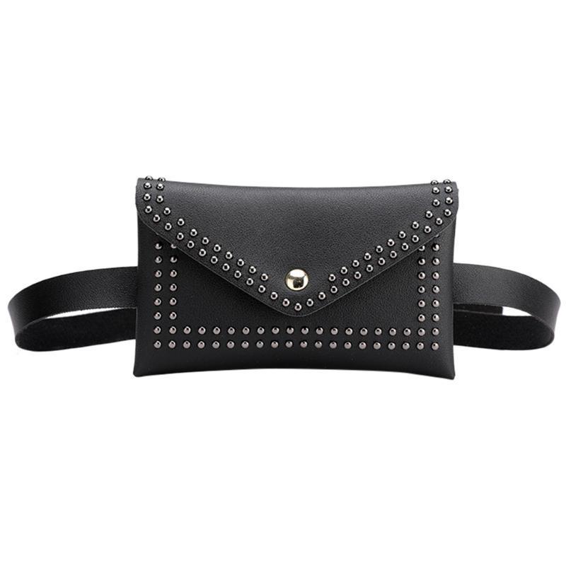Rivet Umschlag Taille Outdoor Bag Brust Messenger Nieten Feste Farbe Haspe Dame Frauen Taschen #yj Taschen Tasche Mujer Kleine TGBQQ oefdo