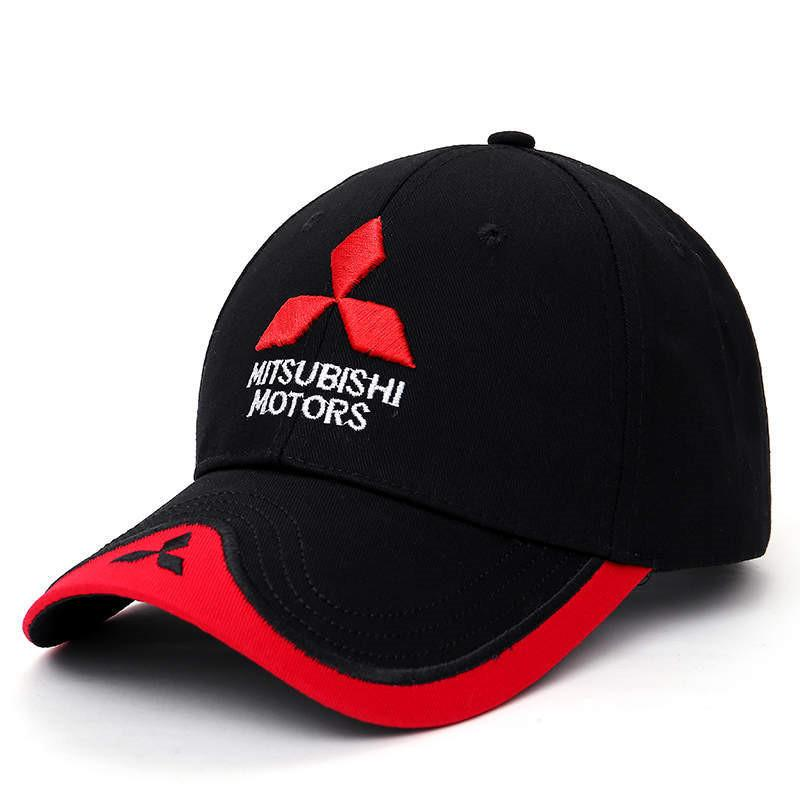 Оптовая 2017 Новый 3D Mitsubishi Hat Cap автомобиль логотип MOTO GP Racing F1 Baseball Cap Hat регулируемый Повседневный Trucket Hat CJ01