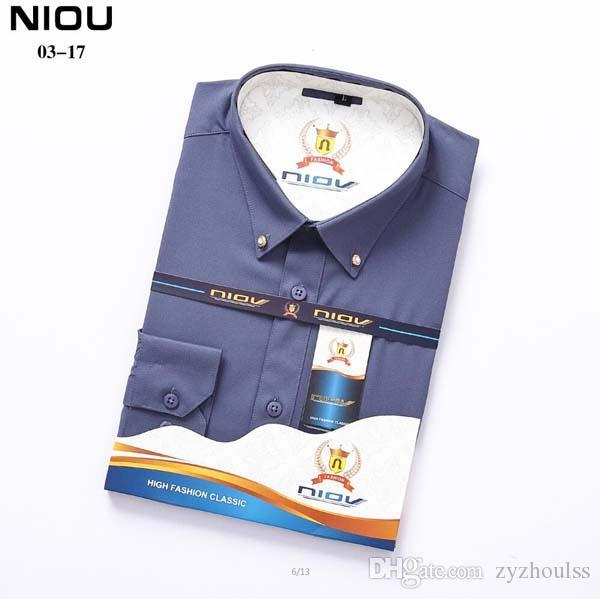 # 9045 shirt di moda a maniche lunghe Social Business shirt Uomo esterna in cotone casuali scarni Lattice camicetta alta qualità del Mens Camicie
