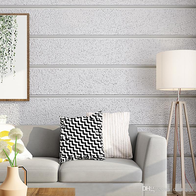 Neue High-End-Luxus-moderne minimaltist Hirsch Wildleder Marmor Sriped Tapete Vliesstoff Wohnzimmer TV Hintergrund Wandpapier 3D-Schlafzimmer