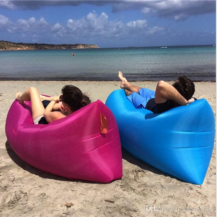 Incredible New Lounge Sofa Sleeping Bag Lazy Inflatable Beanbag Portable Outdoor Beach Swim Pool Float Mattress Travel Camping Waterproof Bed Discount Camping Unemploymentrelief Wooden Chair Designs For Living Room Unemploymentrelieforg