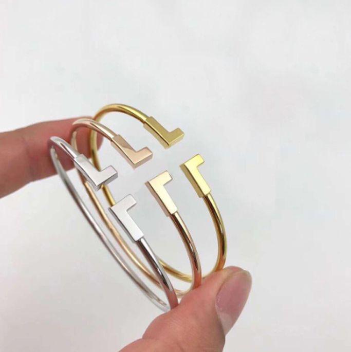 bracelets d'amour d'or de mode charme versez hommes bracelets braccialetto pulsera pour hommes et femmes amateurs de mariage bijoux cadeau de tennis de diamant