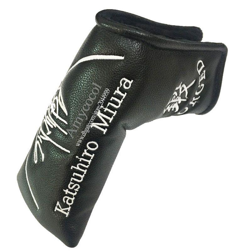 Оптовая продажа головного убора для гольфа высокого качества MIURA Гольф-клюшка для головы черный клюшка для гольфа