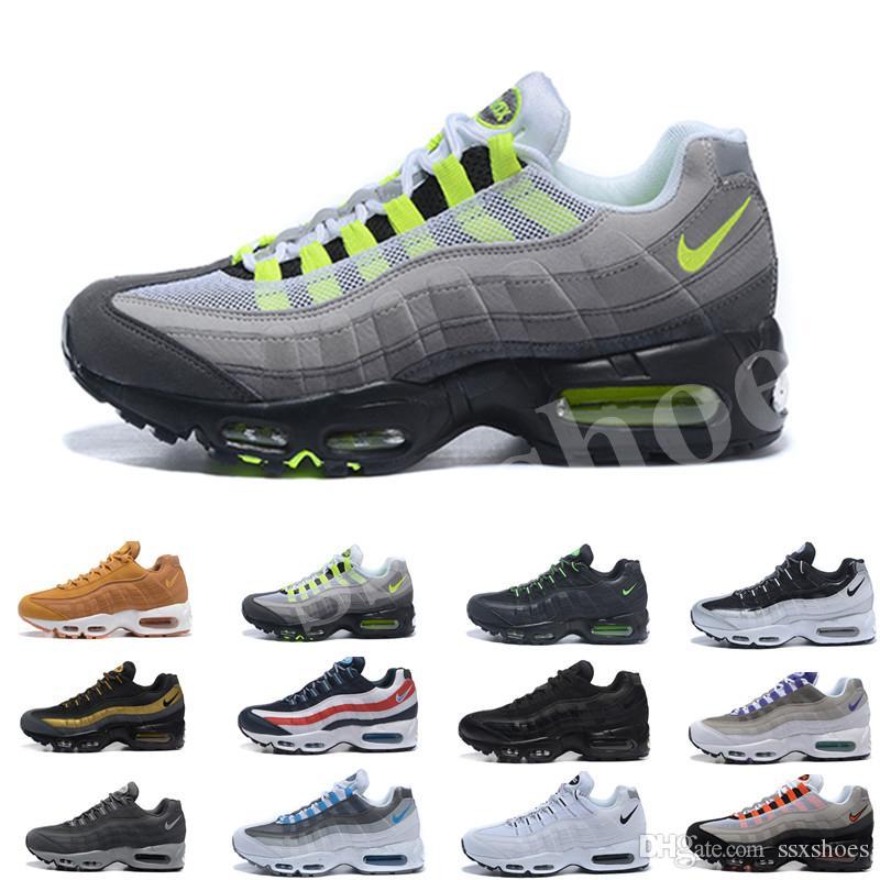 2020 Hommes Chaussures de course Que les rééducateurs Rouge Noir Neon Raisin Triple OG Hommes Chaussures Blanc Sports Taille 7-11 SS5632