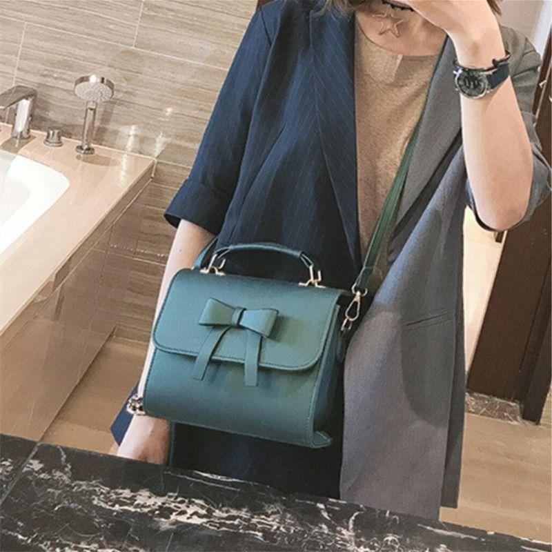 moda casual de las señoras simples del bolso de hombro de las señoras de moda de Corea de 2020 nuevas mujeres pequeña bolsa cuadrada