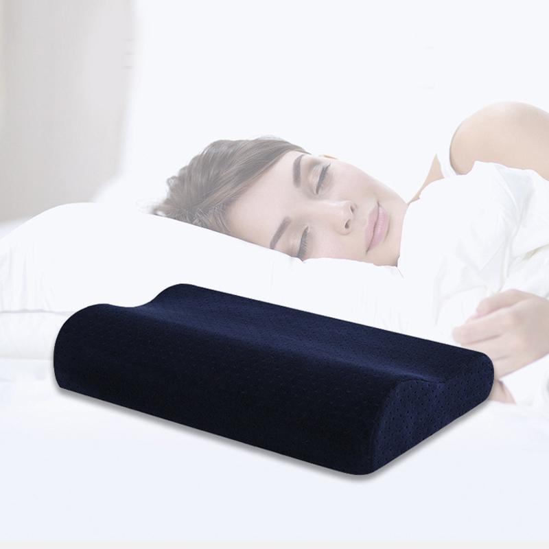 Büküm Yastıklar uyku bellek Yastık Ortopedik Ergonomik Servikal Yastık rahat Boyun koruması Yastık şeklinde dalga