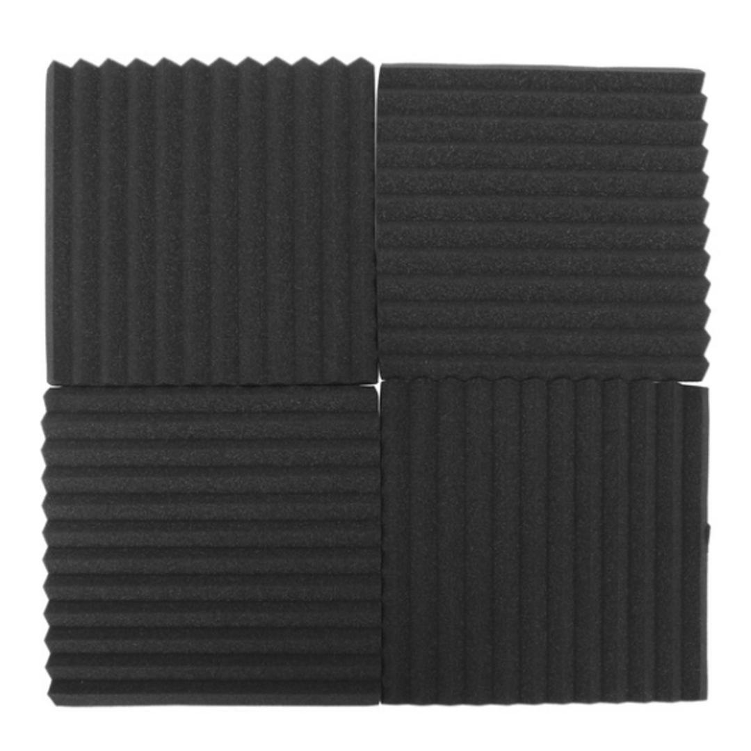 Estudio de la pared acústica de habitaciones insonorizadas Esponja panel de la espuma que absorben el sonido de algodón para pruebas Tratamiento retardante de llama