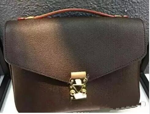 Qualität Hohe Großhandelsversand BAGM40780. Echte Frauen Leder Handtasche Pochette Taschen Umhängetaschen Crossbody 2018 Metis Messenger XHPFM
