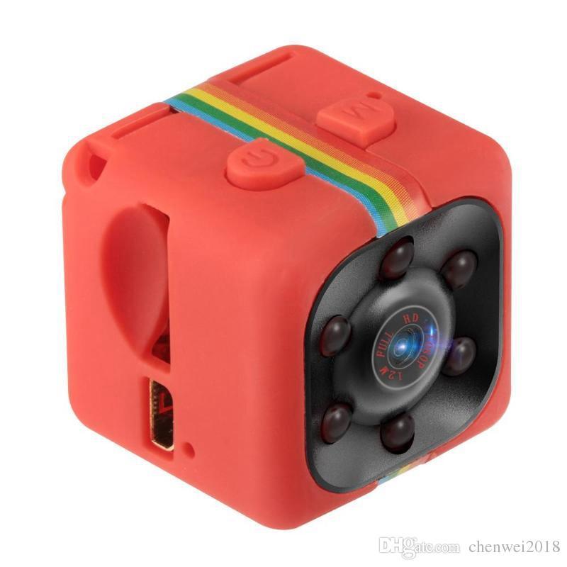 Full HD mini DV camera SQ11 1080p IR night vision video recorder camera Portable Sports Car DVR Support motion detection