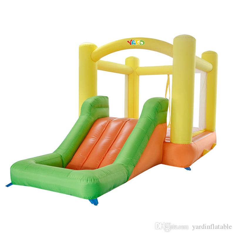 YARD En14960 En71 Certificated Home Use Cheap Inflatable Bouncer House Jumper Bouncy Castle With Slide Wholesalers