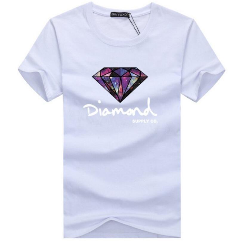 Los diamantes de verano Camiseta del diseñador de las mujeres de 2020 hombres caliente y de la corto manga de los hombres de moda de diseño de hip hop con cuello redondo de la camiseta del tamaño grande S-5XL