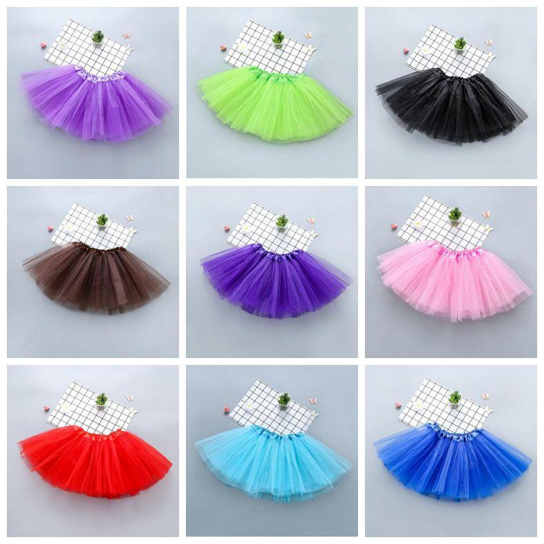 Baby Girl Fluffy Ballet Tutu Princess Party Skirt Dancewear Kids Fancy Costume
