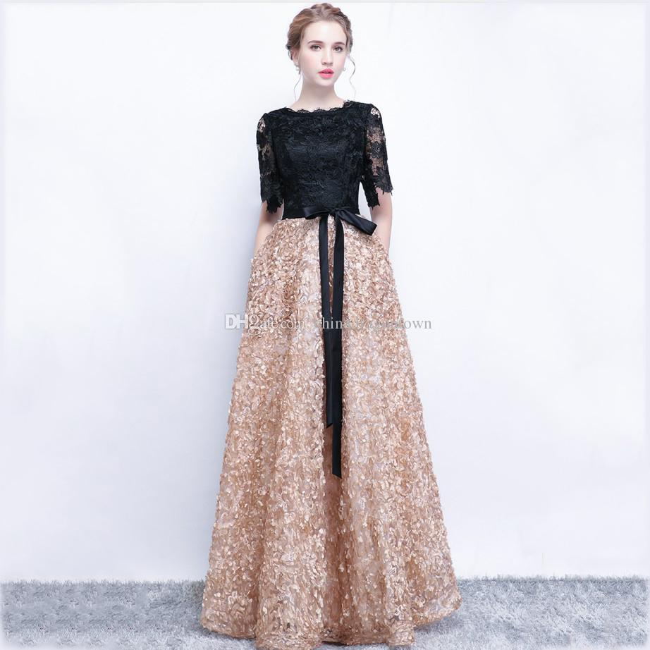 long party modern long party long dress