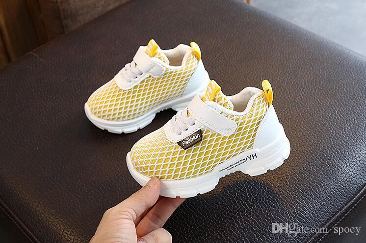 chaussures pour enfants de printemps et d'automne chaussures de luxe Filles Garçons Chaussures Casual 56