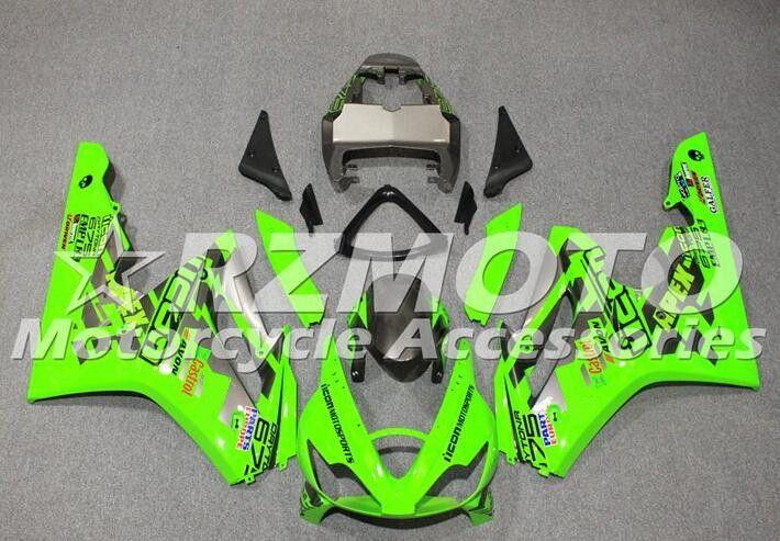 Nueva inyección ABS moho motocicleta carenados Fit Kit para Triumph Daytona 675R 675 2006 2007 2008 06 07 08 Luz Verde