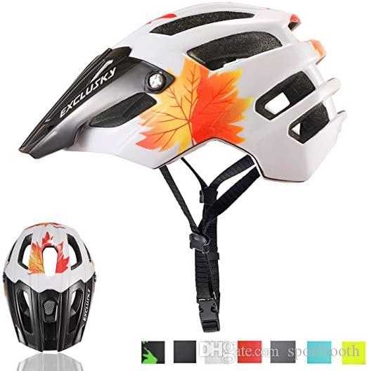 Hotsell Exclusky Mountainbike Helm MTB Fahrrad Fahrradhelme für Erwachsene Frauen und Männern CPSC Certified Outdoor Radsport Schutzausrüstung