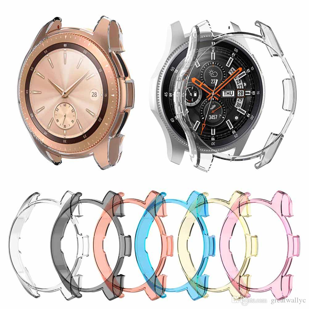 Ultra-thin Soft TPU Protection Silicone Watch Case Cover For Samsung Gear S3 Frontier Watachband Sporting Goods Accessories