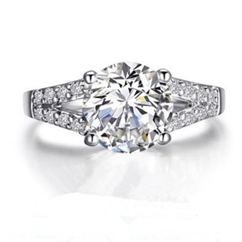 2020 Test Real Synthetic Diamonds Ring Moissanite Jewellery Custom 2ct Engagement Ring Sterling Silver Jewelry Affordable Ring S925 T190924 From Xiao0003 1 058 41 Dhgate Com