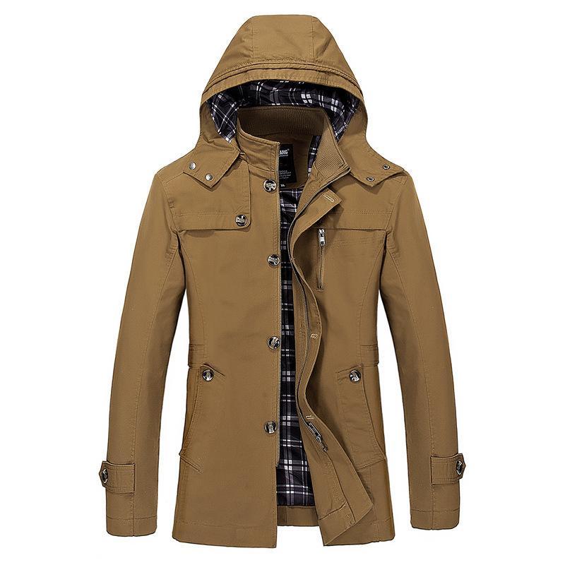 Herren Designer Trenchcoats 2019 Neu Herbst Winter Slim Jacket Fashion Herren Jacke Casual Windbreaker Herren Designer Jacken