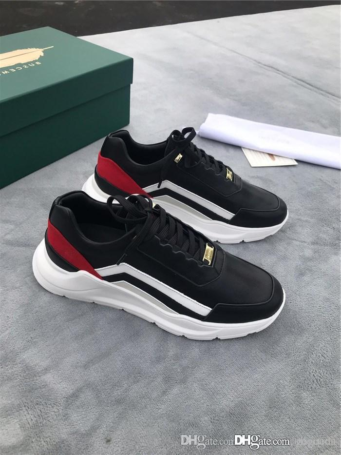 The latest 2019 mans sports shoes, Exclusively recommends men outdoor travel leisure sports TPU platform shoes full set packaging