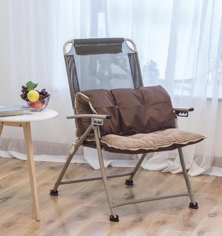Sedia pieghevole casa reclinabile sedia pausa pranzo dormitorio divano pigro computer dell'ufficio