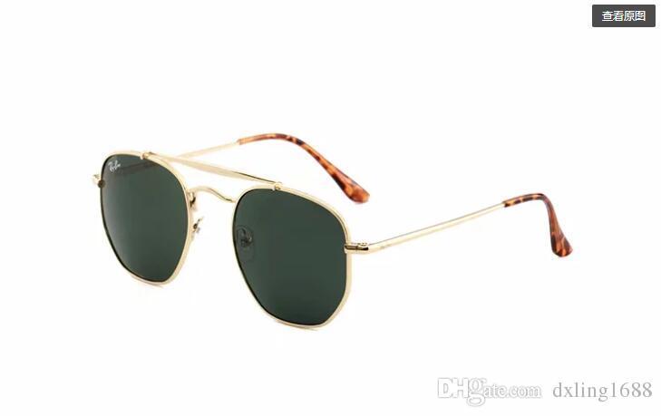Lentes polarizadas de alta calidad para gafas de sol de moda para hombres y mujeres Diseñador de la marca Vintage Sport gafas de sol With3648