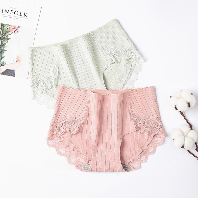 Calcinhas Mulheres Novas Briefs Sexy Lingerie Ropa Interior Femenina Kawaii Panty Lace Mid-rise cuecas Mulher Shorts