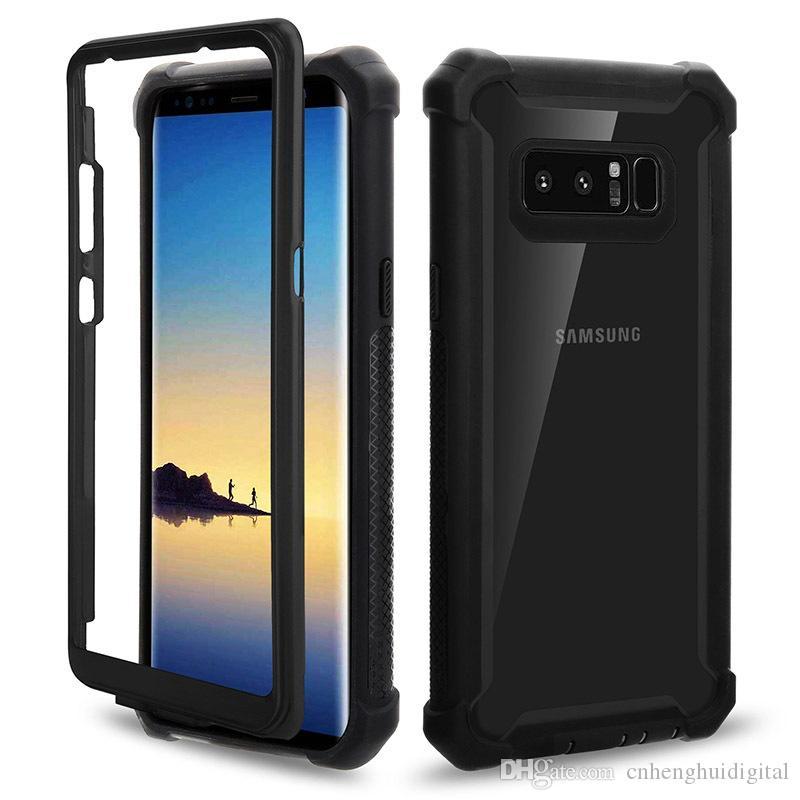 Para samsung a10e iphone 8 8 plus11 pro max sólido cor híbrido combo 3 em 1 caso de telefone impresso oppbag