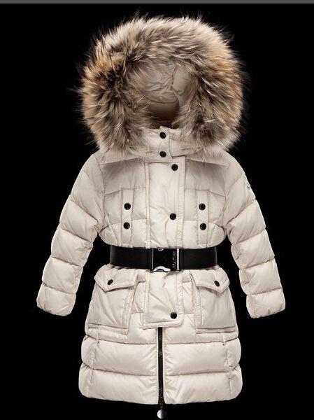 2019 fille / femme pour enfants garçon Veste Parkas manteau avec capuchon pour se chauffent Vestes épais duvet à capuche pour enfants 100% réel fourrure Manteaux d'hiver