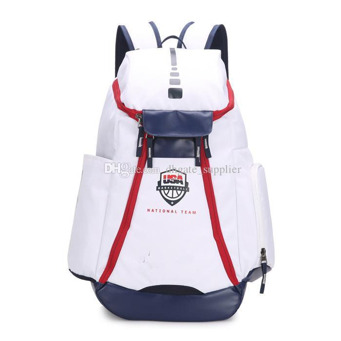 Basketball Backpacks New Olympic USA Team Packs Backpack Man's Bags Large Capacity Waterproof Training Travel Outdoor Bags drop shipping