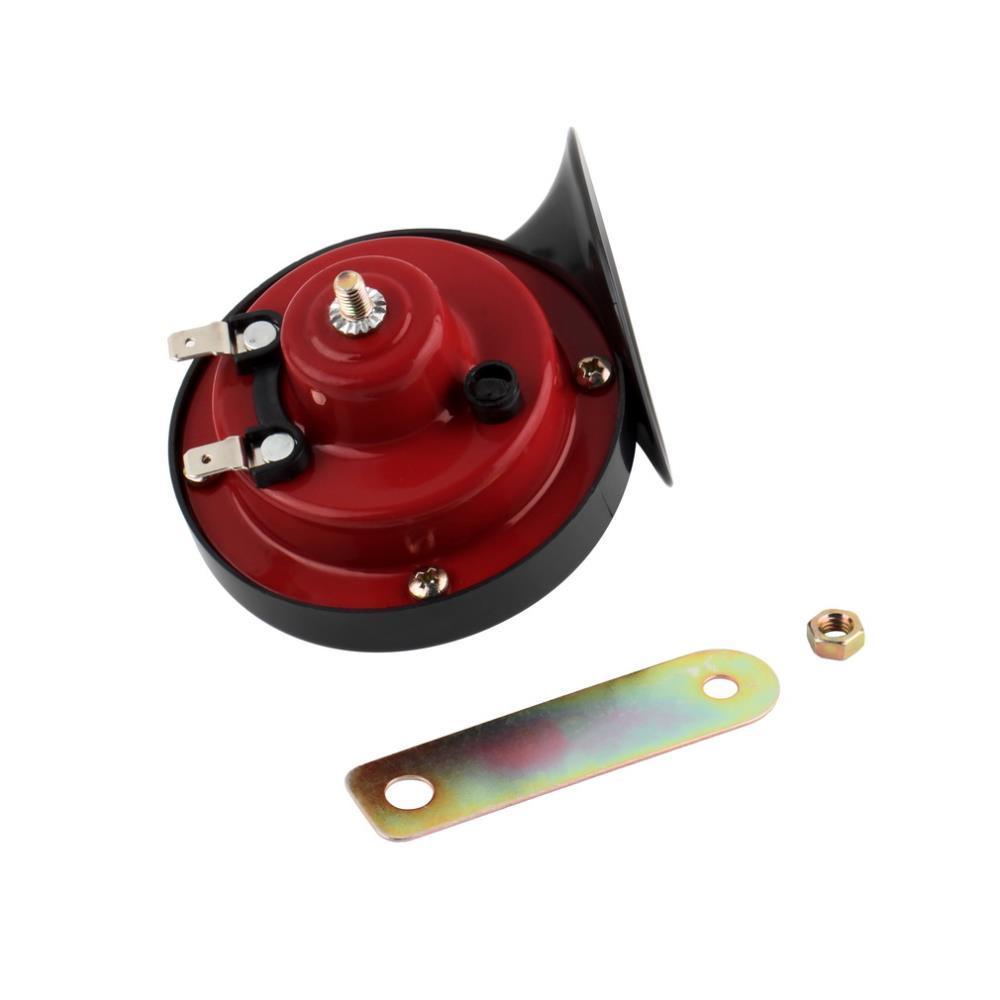 الحلزون للماء سيارة القرن جودة عالية صافرة القرن 12 فولت عالية الصوت منخفضة الصوت المزدوج الكهربائية البوق البوق ل تحذير alarmfree مجانا
