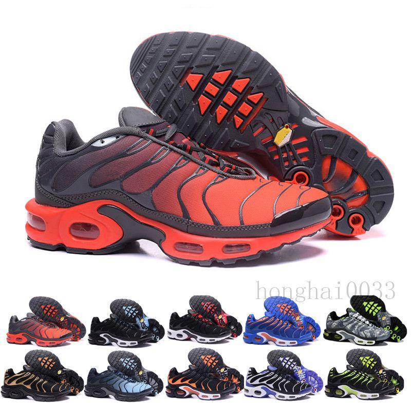 2019 Yeni Marka TN Artı Se Açgözlü Yastık Erkekler Açık Tasarımcılar Sneake DGH-F3 Ayakkabı Moda Koşu Ayakkabı Koşu