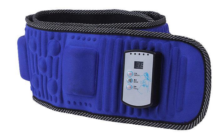 Nouvelle Vibro forme vibration chauffée multinationale amincissant ceinture bas du dos douleur taille masseur 5 Moteur Ceinture De Massage Infrarouge Y181122