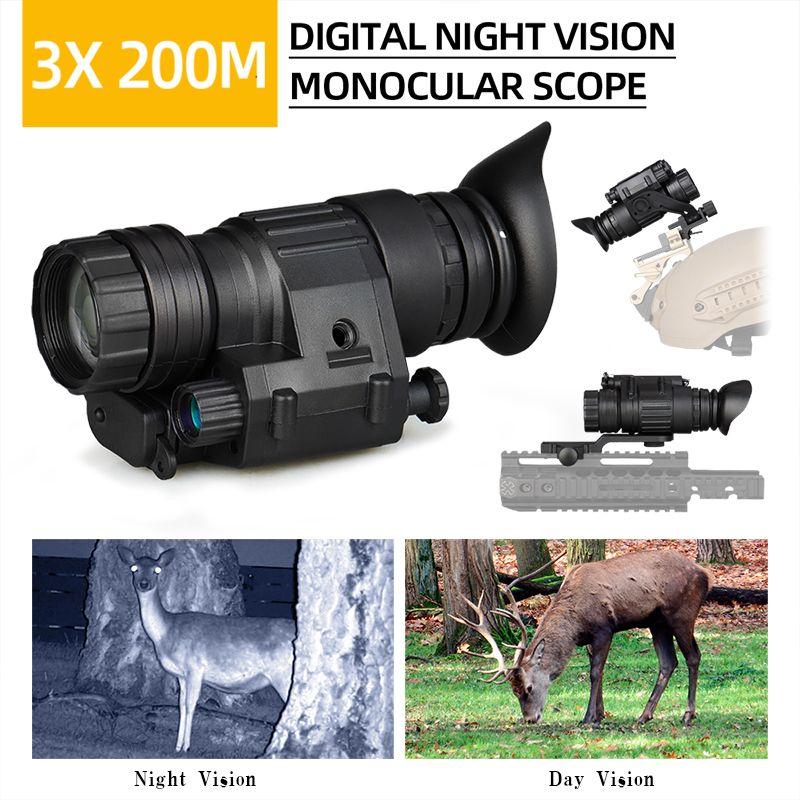 NUOVO DESIGN 3X32 Ottica Digital Vision Night Vision Digital Vision per scope di caccia WARGAME CL27-0027