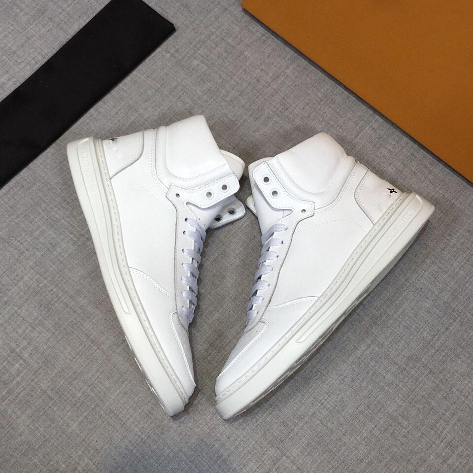 Nouvelles chaussures de sport, les hommes de créateurs de mode et de luxe chaussures, · style rétro classique, la plate-forme haut-dessus, vous pouvez mélanger et assortir à volonté.