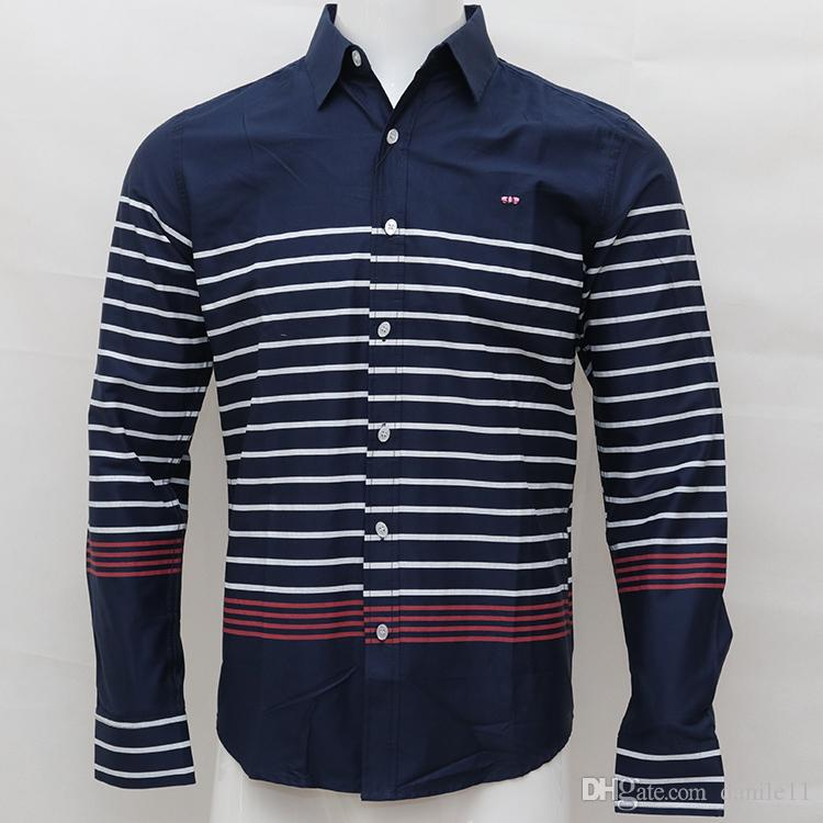 homme embroidery shirts camisa masculina Men Long Sleeve Dress Shirts Cotton hombre eden park rugby chemises long sleeve men dress