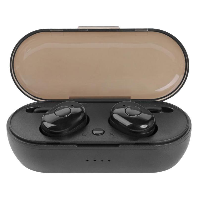 Nouveau TWS 1350 Bluetooth écouteurs BT 5.0 Vrai casque sans fil Bluetooth stéréo Sport écouteurs micro intégré avec le stockage de charge 1pcs Box