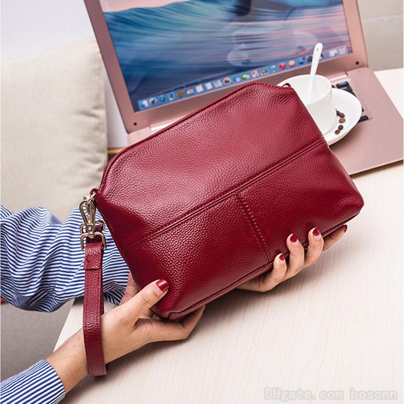 Wholesale Women's Genuine Leather Crossbody Bags Shoulder Bag Designer Evening Party Bag Fashion Messenger Handbag Purse