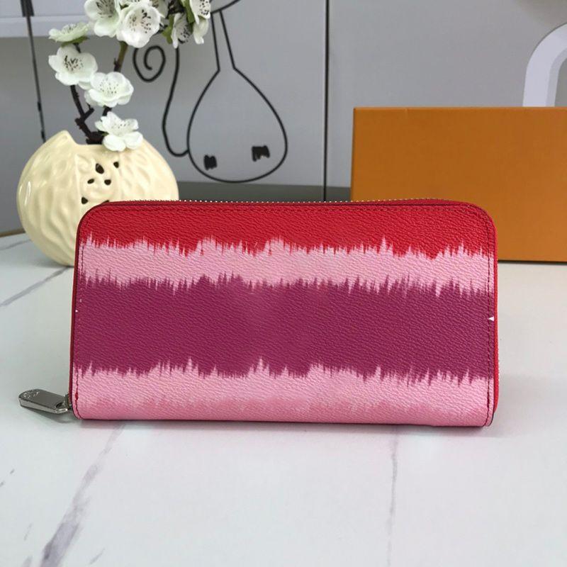 clássico quente flor impressão carteira Dazzle cor Zipper saco de moedas bolsas de grife de luxo bolsas mulheres órgão intercalar titular do cartão desenhador