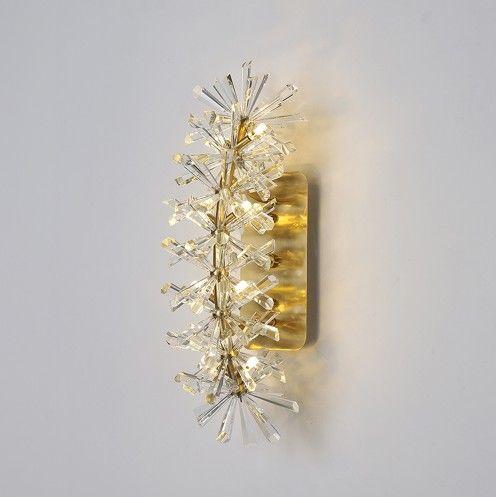 Güzel tasarım modern ev dekorasyon kristal duvar ışıkları led lamba AC110V 220 V Ücretsiz kargo LLFA