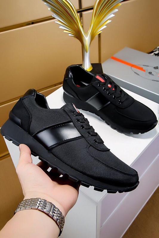 Neue Marke Männer Freizeitschuhe Europa und die Vereinigten Staaten High-End-Stil schwarz britischen Wind Herrenschuhe Jugend Trend my889605