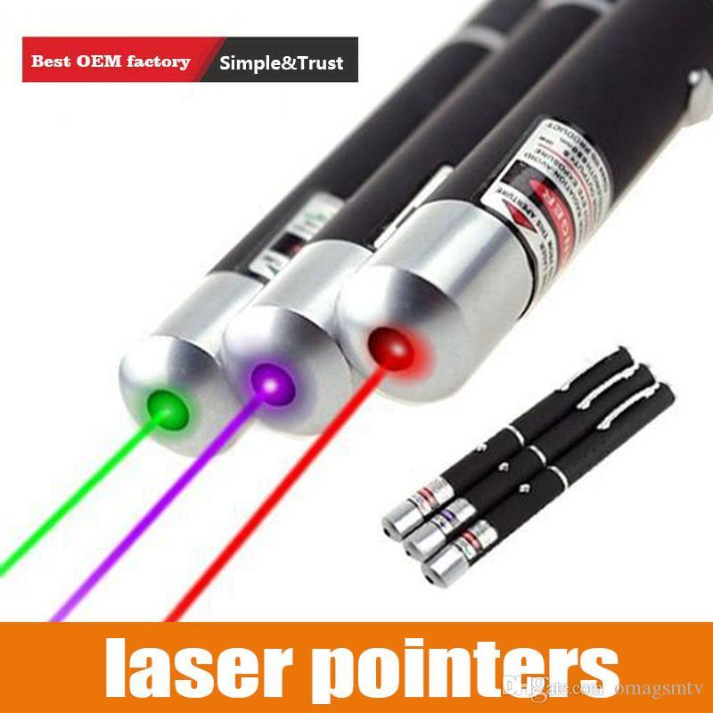 Jagdlicht 532 NM 5mW Green Laser Sight Laserpointer Hochleistungsfähiges Gerät Einstellbarer Fokus Lazer Laser Stiftkopf Brennen