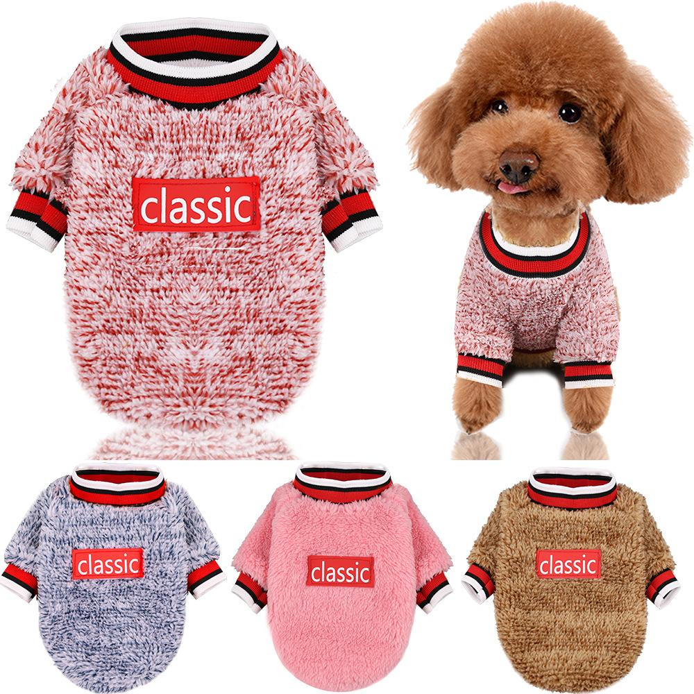 Vêtements pour chiens hiver chaud Toison chiot Outfit Chihuahua Vêtements pour animaux domestiques Pour Petit Moyen Chiens Manteau à capuchon Chihuahua Toutous York