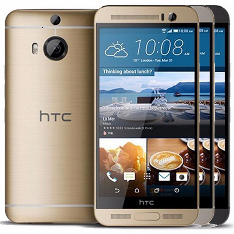 الأصل تجديد HTC ONE M9 M9 + زائد 5.2 بوصة الثماني الأساسية 3GB RAM 32GB ROM 20MP كاميرا مفتوح 4G LTE الروبوت الهاتف الذكي دي إتش إل الحرة محفظة 5pcs