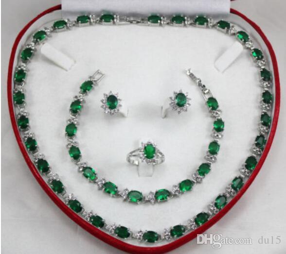 Prett Lovely женский свадебный шарм Jew.657 3 варианта очаровательный хрустальное кольцо ожерелье серьги браслет комплект ювелирных изделий