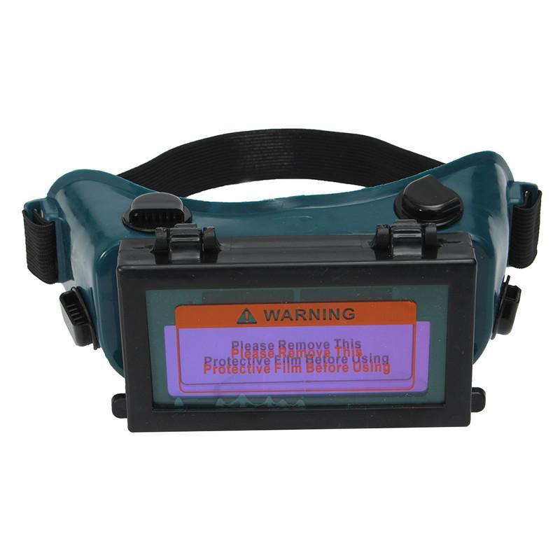 NUEVO Oscurecimiento automático Soldador Soldadura Ojos Gafas Gafas Casco Máscara Sombra / Parche / Ojos Gafas de seguridad en el lugar de trabajo