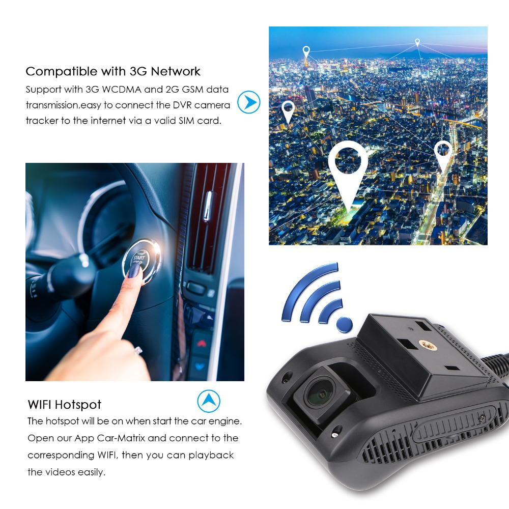 High Accuracy 3G Car Smart JC200 WCDMA GPS Tracker Full HD 1080P oil cut off SOS