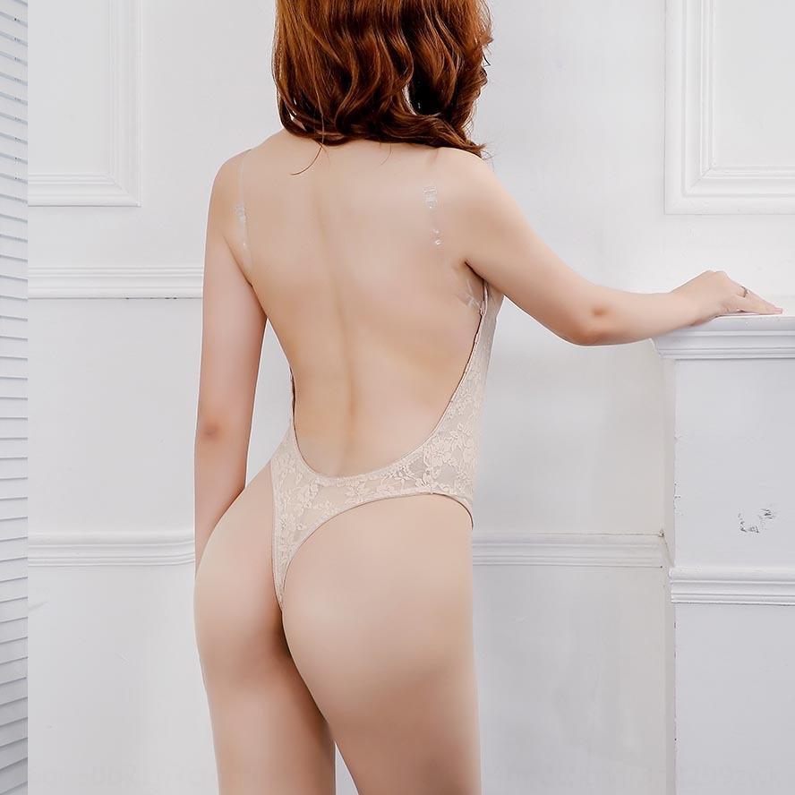 Bmu0q pizzo spalla reggiseno abbigliamento body-shaping trasparente sera abito Shapewear shapewear Nuova cinghia invisibile sexy sJQ8v backless corpo-fit w