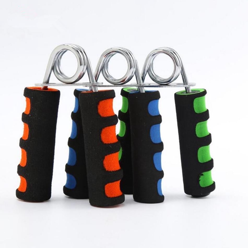 Tragbare Schaum-Handgriff Carpal Expander Gym Exerciser Schaumhandgreifer stärken Handgelenk Unterarm Fitnessgeräte 1000pcs OOA2711