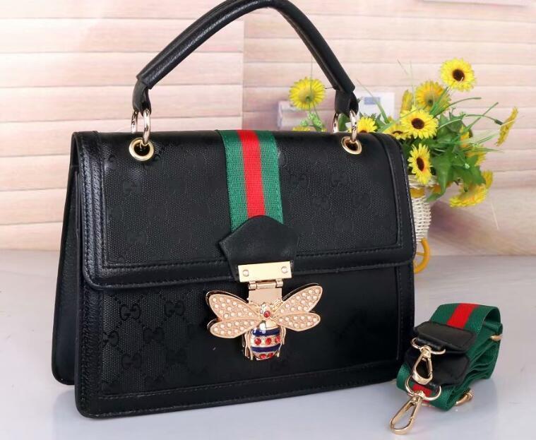 KJ9 2020GucciBag Women Handbag Messenger Bag Leathe ...